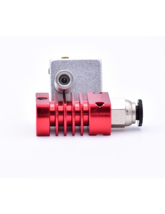 Hotends - Hotend MK8 complète avec gorge (heatbreak) téflon 24V - 2