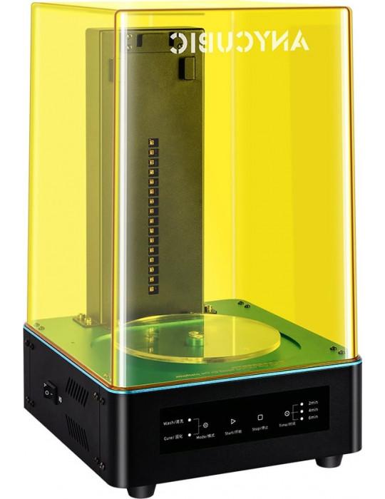 SLA, LCD - Anycubic Wash & Cure Machine - Pour impressions Résine - 1