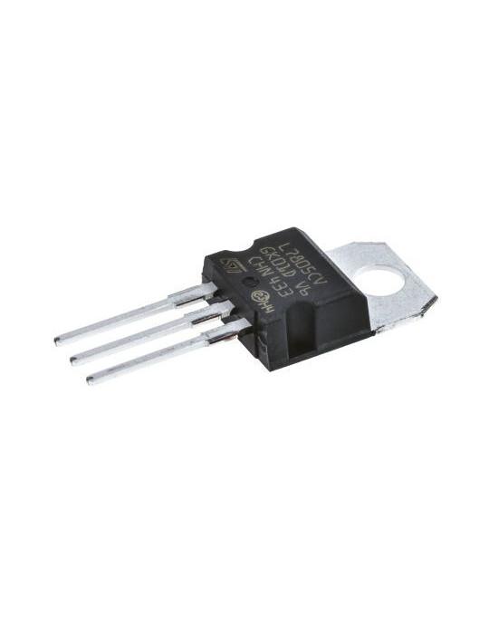 Actifs - Régulateur de tension linéaire 5V LM7805CV STMicroelectronics - 2