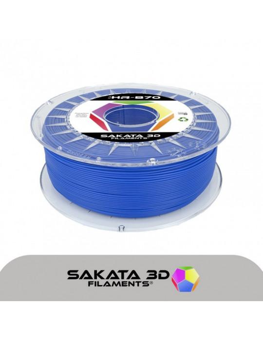 Filaments PLA - Filament PLA SAKATA HR-870 1,75mm 1Kg (Ingeo 3D870) - Bleu - 1