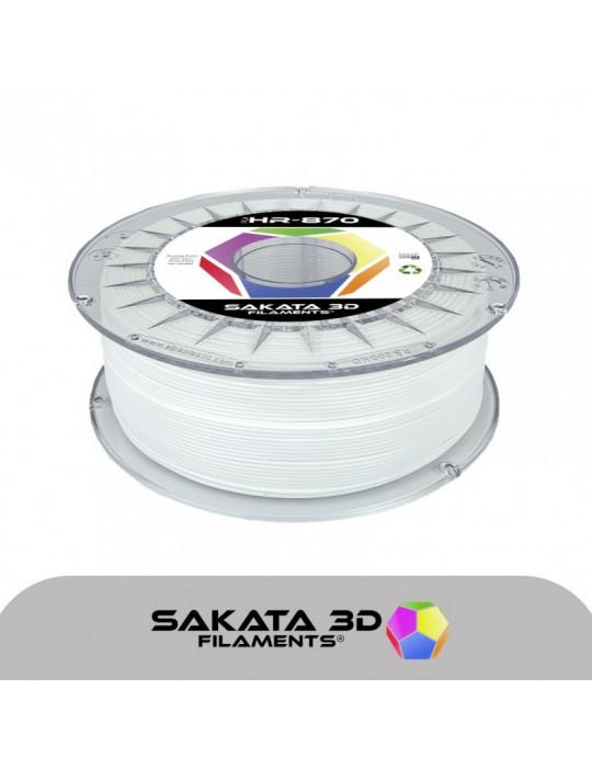 Filaments PLA - Filament PLA SAKATA HR-870 1,75mm 1Kg (Ingeo 3D870) - Blanc - 1
