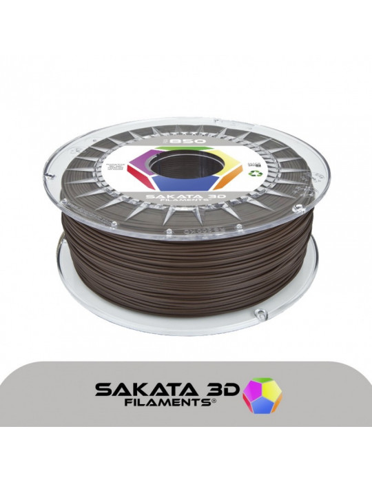 Filaments PLA - Filament PLA SAKATA HR-850 1,75mm 1Kg (Ingeo 3D850) - Brun - 1