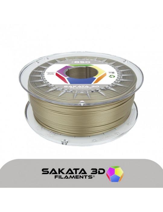 Filaments PLA - Filament PLA SAKATA HR-850 1,75mm 1Kg (Ingeo 3D850) - Or - 1
