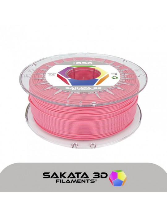 Filaments PLA - Filament PLA SAKATA HR-850 1,75mm 1Kg (Ingeo 3D850) - Rose - 1