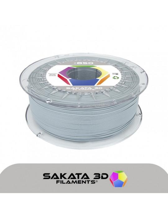 Filaments PLA - Filament PLA SAKATA HR-850 1,75mm 1Kg (Ingeo 3D850) - Gris - 1