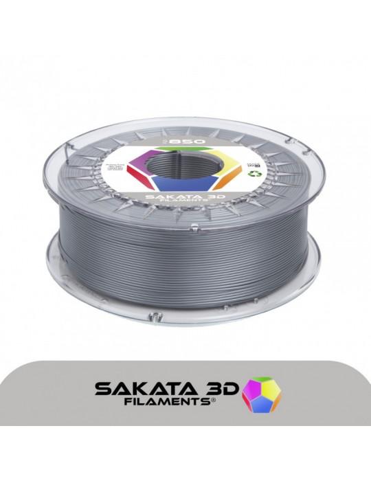 Filaments PLA - Filament PLA SAKATA HR-850 1,75mm 1Kg (Ingeo 3D850) - Argent pailleté - 1