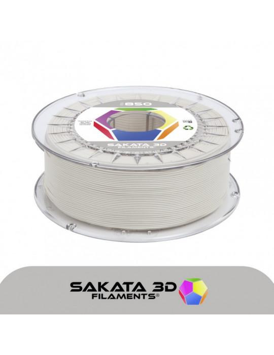 Filaments PLA - Filament PLA SAKATA HR-850 1,75mm 1Kg (Ingeo 3D850) - Ivoire-blanc cassé - 1