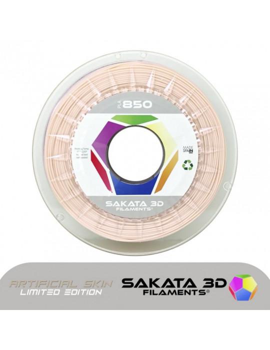 Filaments PLA - Filament PLA SAKATA HR-850 1,75mm 1Kg (Ingeo 3D850) - Peau/chair artificielle - 1