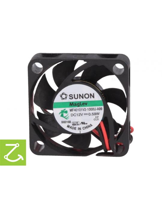 Ventilateurs - Ventilateur Sunon MF40101V2-1000U-A99 12V - 40x40x10mm silencieux - 1
