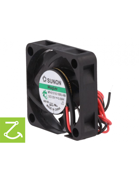 Ventilateurs - Ventilateur Sunon MF40101V2-1000U-A99 12V - 40x40x10mm silencieux - 2