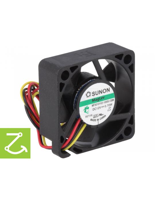 Ventilateurs - Ventilateur Sunon MF30101V2-1000U-G99 12V - 30x30x10mm silencieux - 1