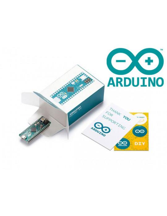 Arduinos (Uno, nano etc..) - Arduino Micro 5v - Genuine Part - sans connecteur - 1