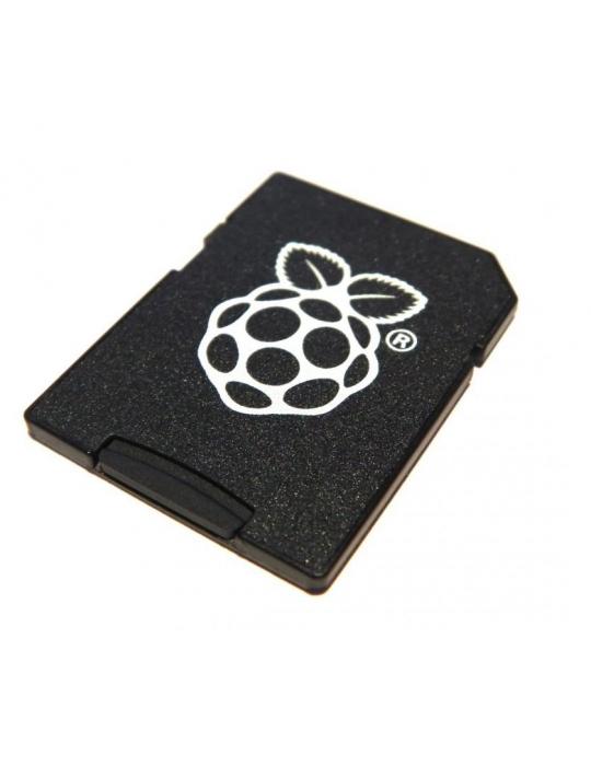 Electronique - Raspberry Pi NOOBS sur carte Micro-SD Transcend 16Go - 4