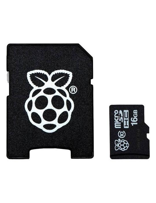Electronique - Raspberry Pi NOOBS sur carte Micro-SD Transcend 16Go - 2