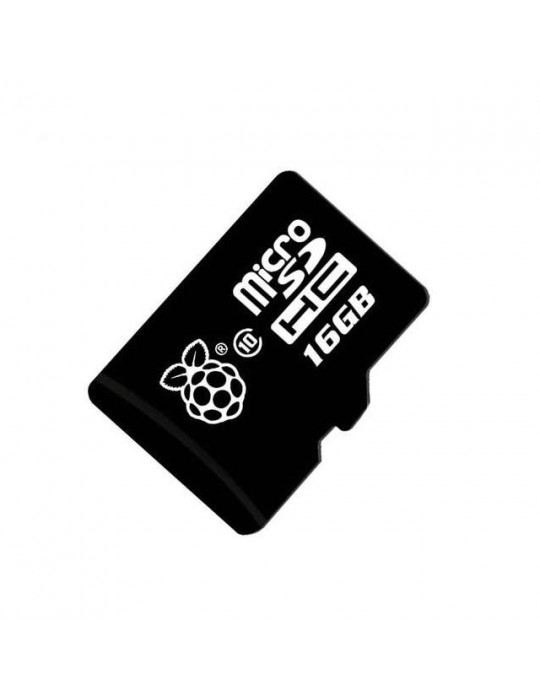 Electronique - Raspberry Pi NOOBS sur carte Micro-SD Transcend 16Go - 3