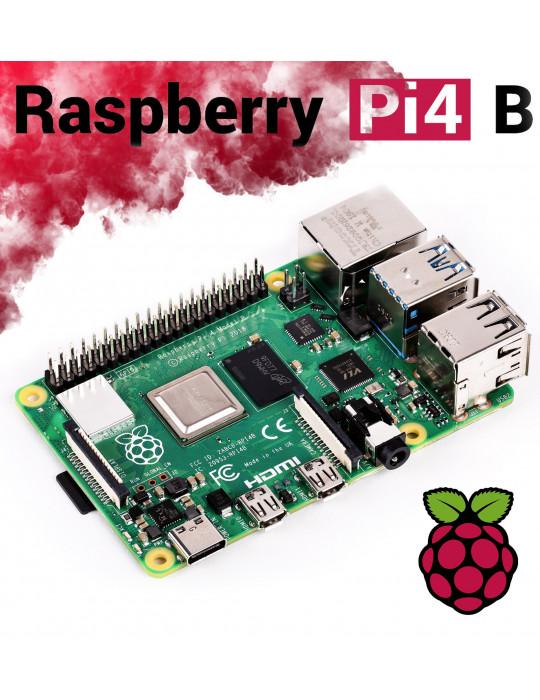 Rasbperry(s) - Raspberry Pi 4B - 4Go PoE - Nano PC - 1
