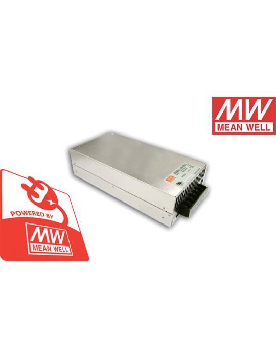 Boitier d'alimentation (PSU) - MeanWell SE-600-12 - Alimentation électrique - 600W- 12V 50A - 1