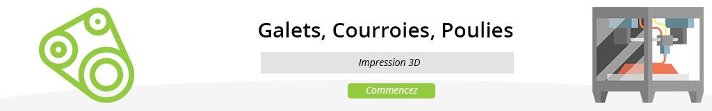 Galets / Courroies / Poulies